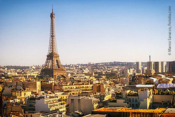 Paris im Sonnenaufgang © Marco Saracco, Fotolia.com